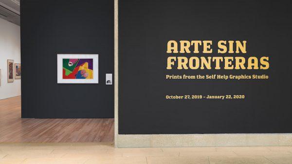 View ofArte Sin Fronteras: Prints from the Self Help Graphics Studioat the Blanton Museum of Art