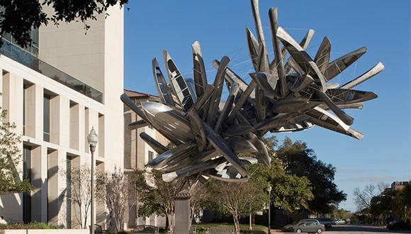 Nancy-Rubins-Monochrome-For-Austin-at-Landmarks-UT-Austin