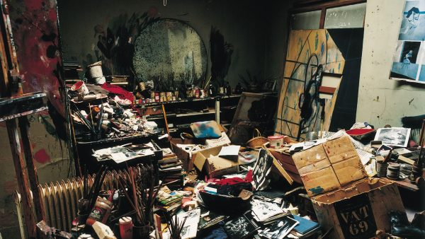 artist Francis Bacon's studio