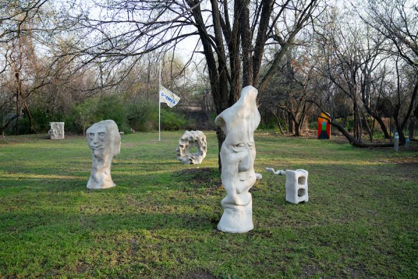 Installation view of Sweet Pass' first exhibition, Outdoor Cat, 2018.