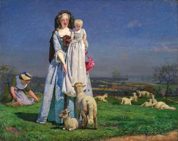 Ford Madox Brown, Pretty Baa-Lambs, 1851-59