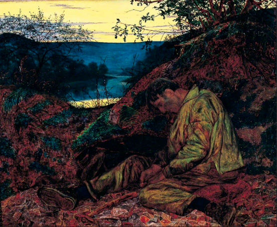 Henry Wallis, The Stone Breaker, 1857,