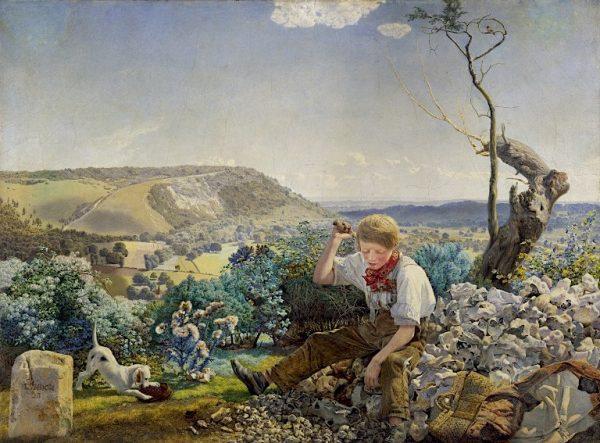 John Brett, The Stone Breaker, 1857-58