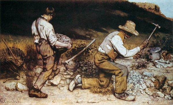 Gustave Courbet,The Stonebreakers, 1849