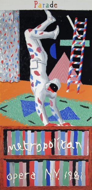 David Hockney, Parade, 1981.