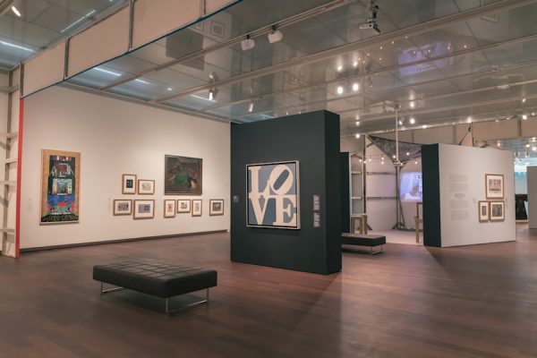 Installation view: Picasso to Hockney: Modern Art on Stage