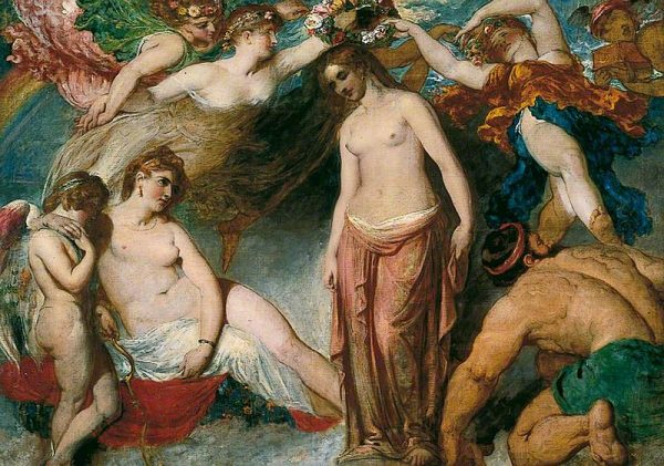 William Etty, Pandora Crowned by the Seasons, c. 1824-30