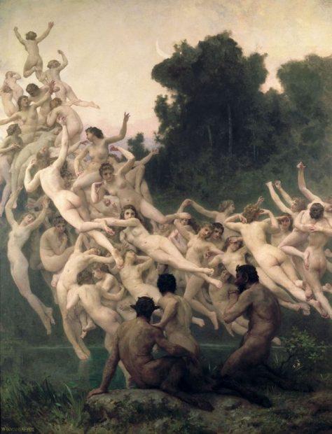 William-Adolphe Bouguereau, Oréades, 1902