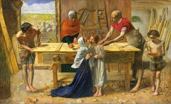 John Everett Millais, Christ in the House of His Parents, c. 1849