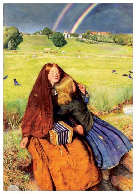 John Everett Millais, The Blind Girl, 1854-56