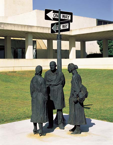 Chance-Meeting-By-George-Segal-1989-Modern-Art-Museum-Fort-Worth