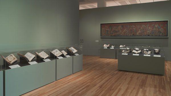 View ofMedieval Monsters: Terrors, Aliens, Wondersat the Blanton Museum of Art