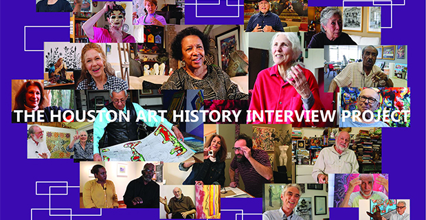 Presenting the Houston Art History Interview Project at the Glassell School of Art in Houston December 15 2019