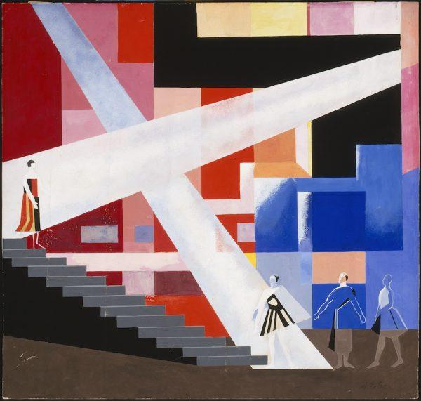 Alexandra Exter, 'Lighting design for a tragedy,' 1928