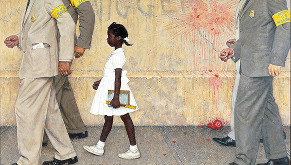 The Problem We All Live With, 1963 Norman Rockwell