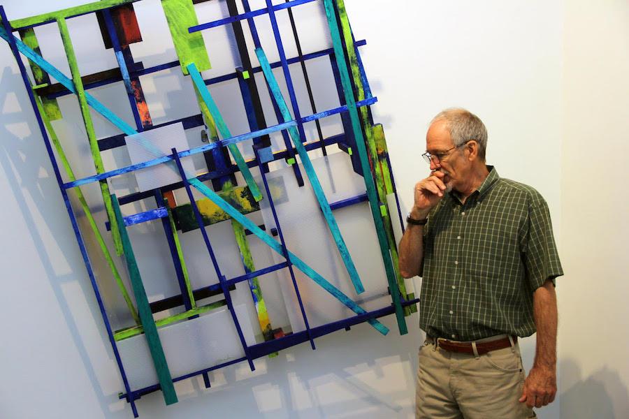 Larry Graeber at Blue Star in San Antonio
