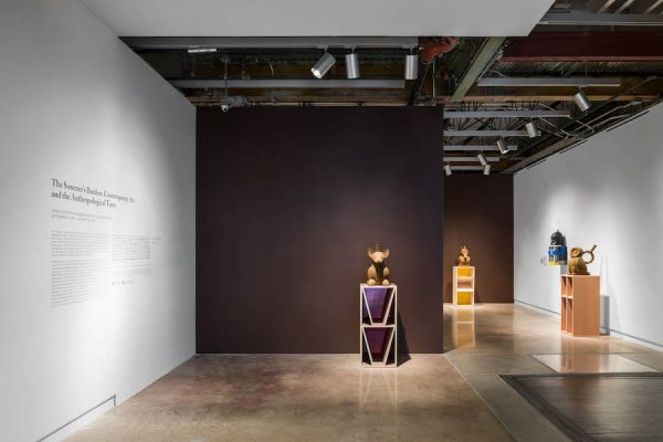Installation view, The Sorcerer's Burden: Contemporary Art and the Anthropological Turn