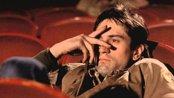 A still from Martin Scorsese's Taxi Driver, 1976