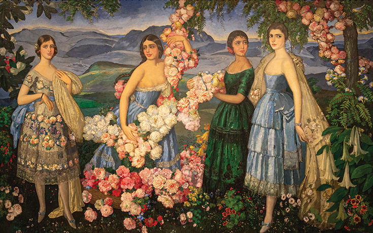 Alfredo-Ramos-Martinez-Flores-Mexicanas-1914-1929-©-The Alfredo Ramos Martínez Research Project