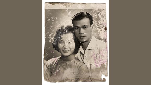 Brandon Tho Harris, Ông Ngoại, Bà Ngoại, Family Archive Image, Courtesy of the artist
