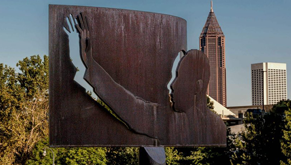 MLK-Day-2020-post-Xavier Medina-Homage to King-Atlanta-Georgia