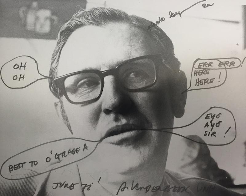 Photograph of Gerald O'Grady