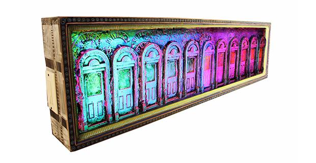 Optics - Artists working in Glass at Flight Gallery in San Antonio January 2 2020