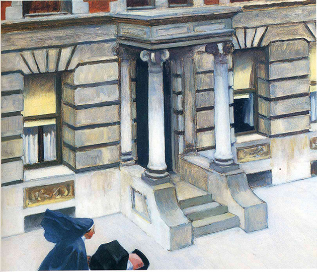 edward-hopper-new-york-pavements-Public-Domain-Day-2020