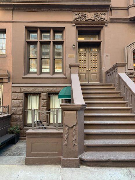 Ruiz-Healy Art entrance on East 79th Street, NYC