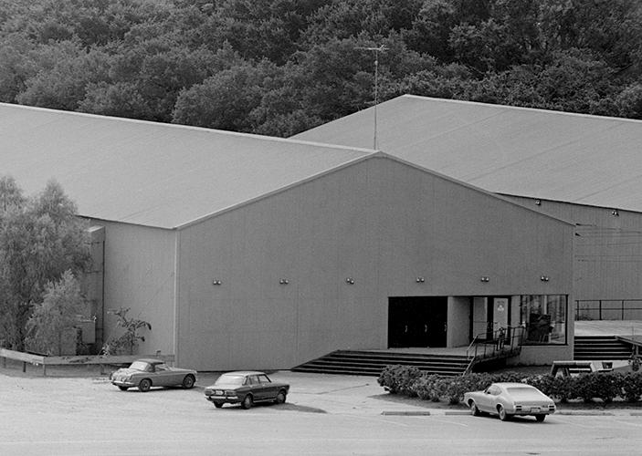 The Rice Media Center building ca. 1970.