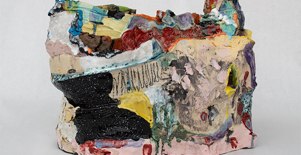 Cross Currents- Melinda Laszczynski, Chris Powell, Fred Spaulding at the Gallery at UTA in Arlington March 6 2020