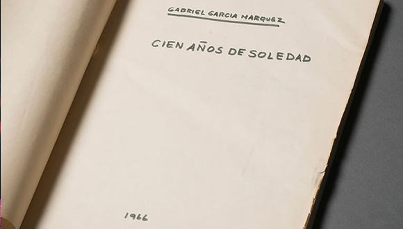 Gabriel García Márquez's Cien años de soledad [One Hundred Years of Solitude]