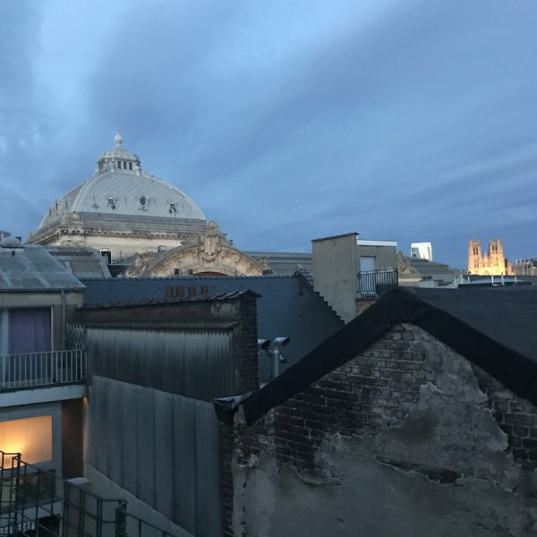 A view from the rooftop of Artist Commons Brussels