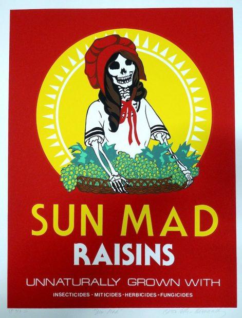 Ester Hernandez, Sun Mad Raisins (1982)