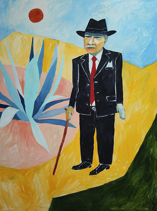 Tomas-in-an-Aztlan-Dream_Cruz-Ortiz-painting-acquired-by-the-smithsonian-National-portrait-gallery