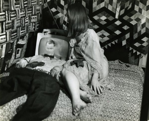 Film still, Breathdeath (1963) by Stan VanDerBeek.