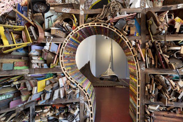 "Installation view of Patrick Renner's ""Bounty"" at Redbud"