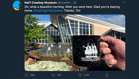 Cowboy-Museum-turns-twitter-account-over-to-security-guard-COVID-19-3-24-2020-11
