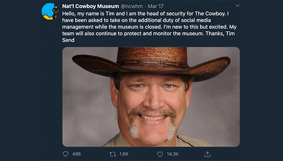Cowboy-Museum-turns-twitter-account-over-to-security-guard-COVID-19-3-24-2020-2