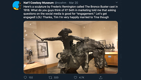 Cowboy-Museum-turns-twitter-account-over-to-security-guard-COVID-19-3-24-2020-6