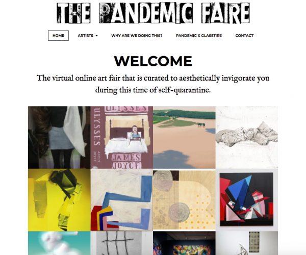 the pandemic faire online texas art fair