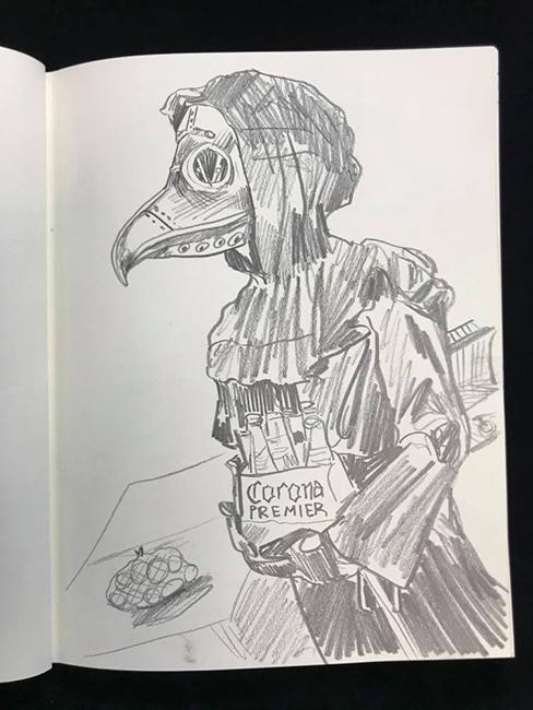 Clay-Stinnett-Corona-Time-Book-Sketches-4-April-2020