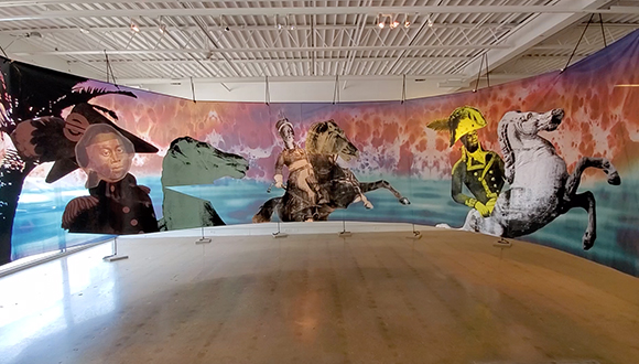 Five-Minute Tours: Raphaël Barontini at Fort Worth Contemporary Arts