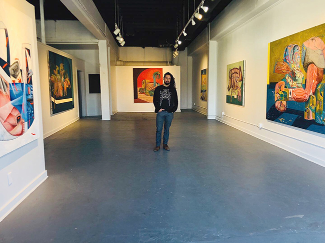 John Guzman, If It Doesn't Pick Up, Lets Split Southwest School of Art Pop-up at 134 Blue Star