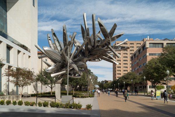 Nancy Rubins public art sculpture at UT Austin