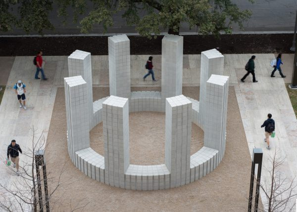 Sol LeWitt public art sculpture at UT Austin