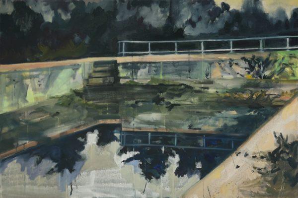 Elizabeth Schwaiger, Reflecting Pool.