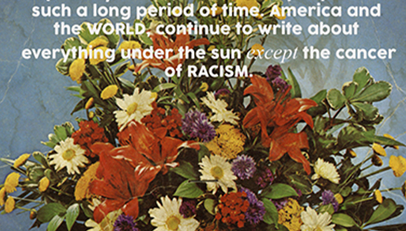 """""""Y'all Still Trying to Hide Racism,"""" Irene Antonia Diane Reece-via Deep Red Press."""