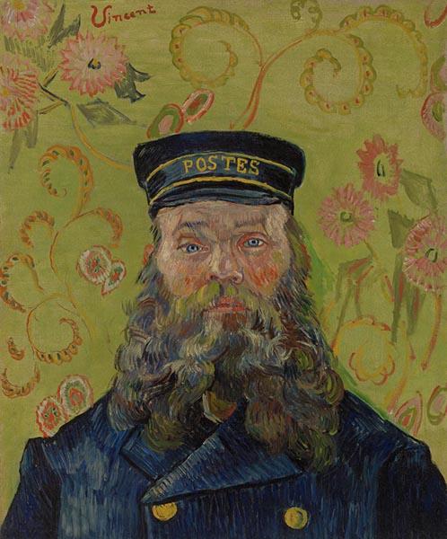 Vincent van Gogh. The Postman (Joseph-Étienne Roulin), 1889.