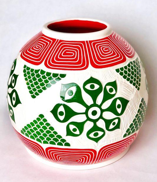 Ceramic art by Gabo Martinez